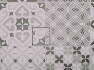 Contemporary Laundry Floor Tile