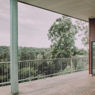 Nelligen Tree House Deck View