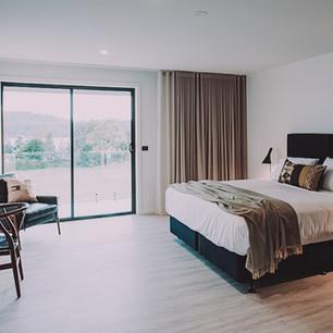 Bedroom motel design for boutique hotel