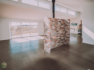 Best example of burnished concrete floor