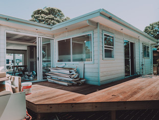 New deck for beach renovation tomakin