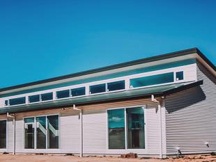 Clerestory windows solar passive rural design