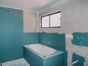 Waterproofing of  luxury bathtub