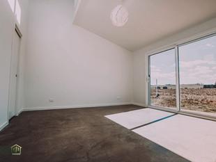 Solar passive bedroom design in Braidwood