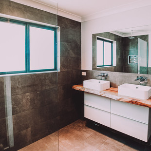 Large country eco design ensuite wet room
