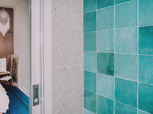 Ensuite renovation in beach side beach house