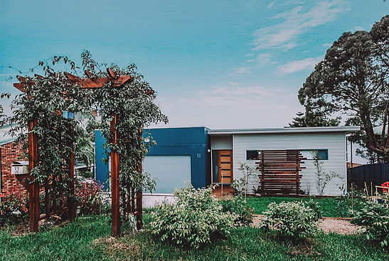Affordable House Design Moruya Heads by accredited sustainable building designer Paul Dolphin of PdD Building Design