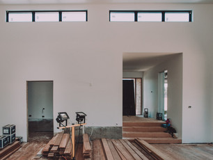 Clerestory Windows for North light into open living area