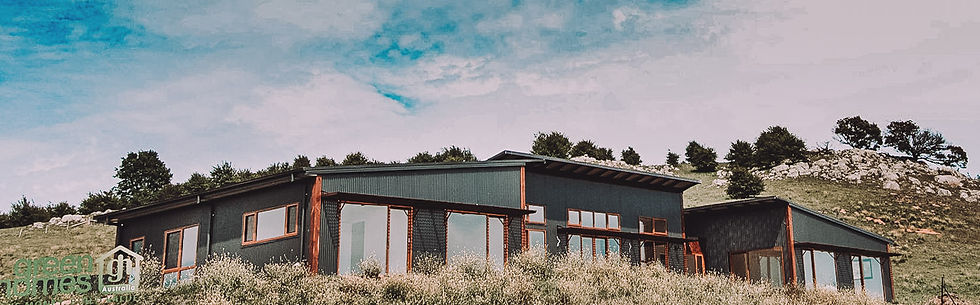 Braidwood Country Eco Design by Paul Dolphin of PdD Building Design with Green Homes South East NSW in Braidwood