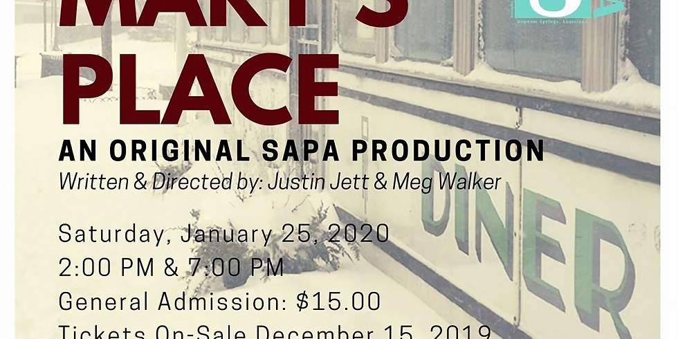 7pm Winter Show Production of Mary's Place