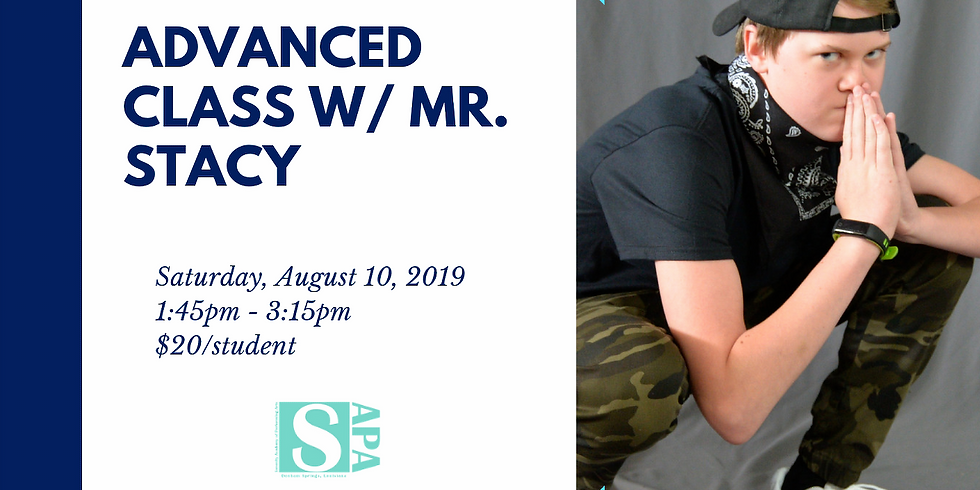 Back to School Hip Hop Clinic with Mr. Stacy / Advanced