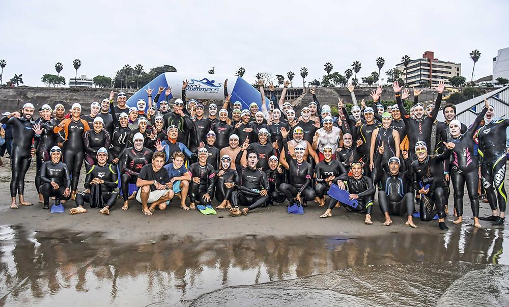 Open Water Swimming, Aguas Abiertas: La Ruta de Olaya, Lima, Peru