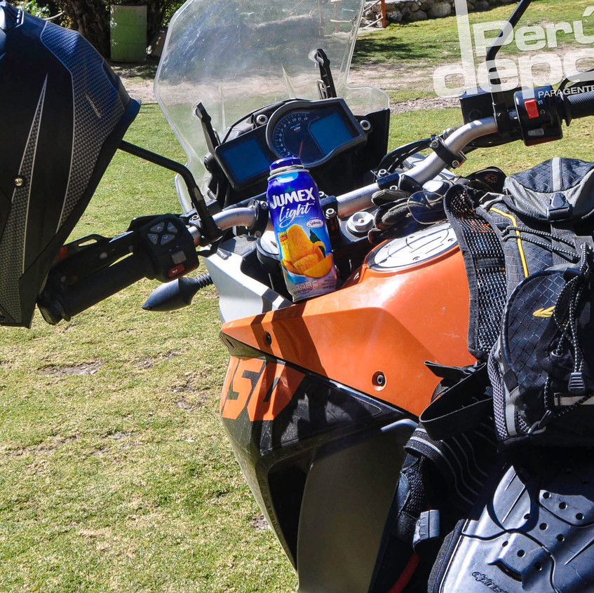Armando la moto con #Jumex