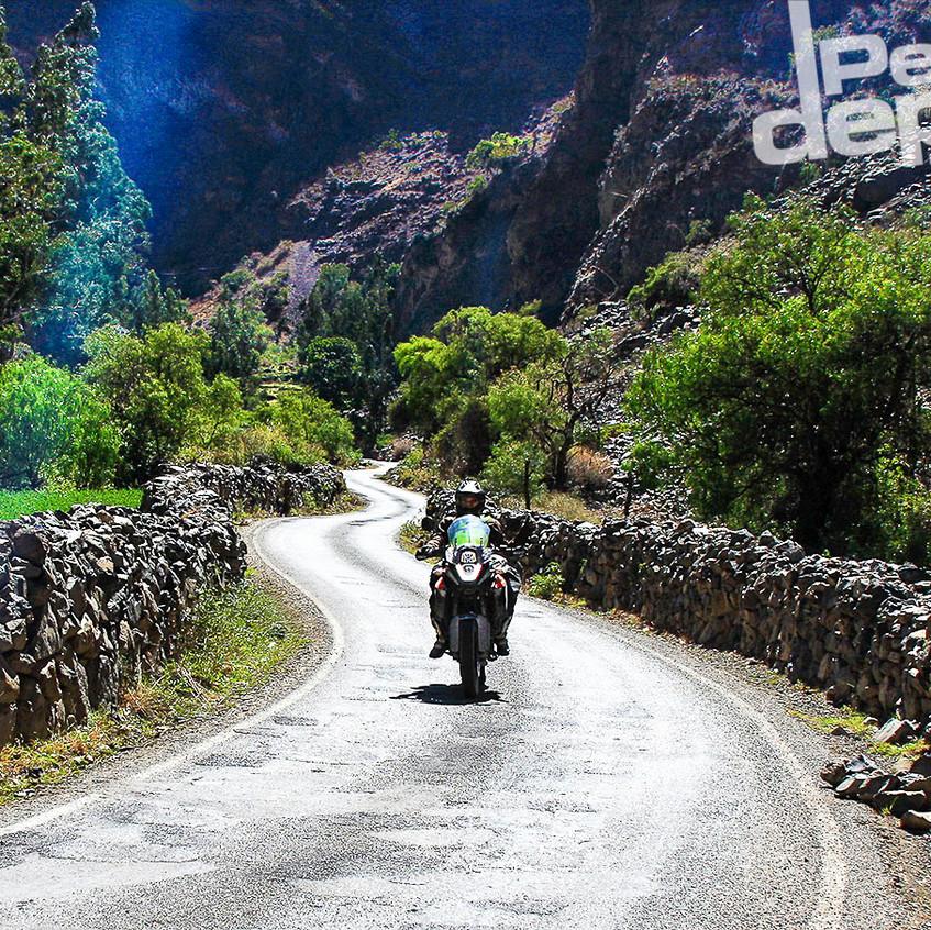 Bajando el valle de Lunahuaná