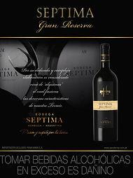 wine septima gran reserva vino tinto