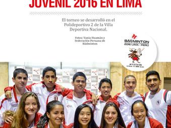Bádminton Panamericano Juvenil 2015 en Lima