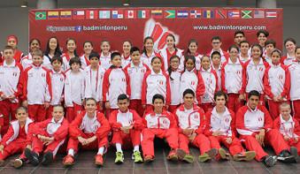 Perú, campeón sudamericano juvenil de bádminton