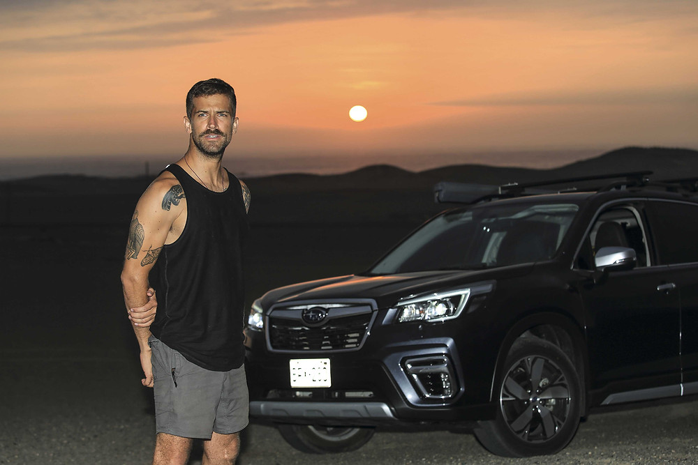 Subaru Viaja y Prueba Luciano Mazzetti