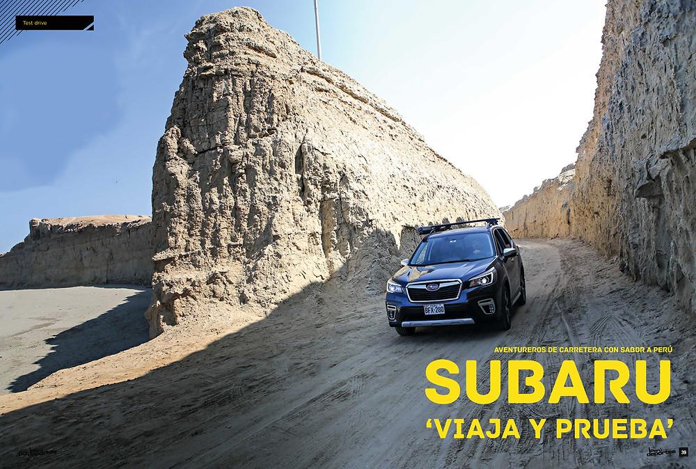 Subaru Viaja Y Prueba