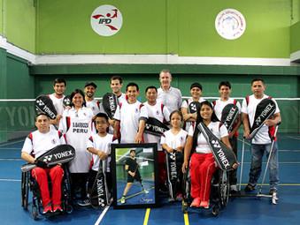 ¡Y fueron nueve! Equipo nacional de parabádminton consiguió 9 medallas en torneo panamericano