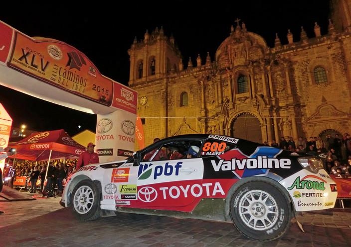 Lucho Alayza, Toyota