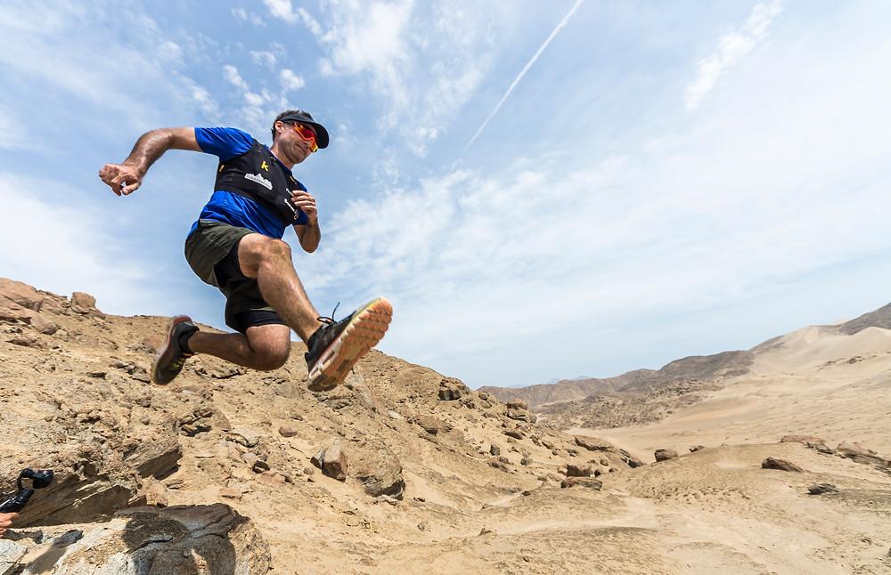 Trail Running Huarmey Peru - 3 Piedras Stage Run