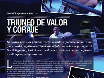 """David """"La Pantera"""" Zegarra: Triunfo de valor y coraje"""