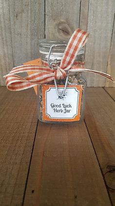 Good Luck Herb Jar