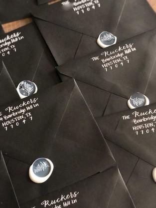 Modern Addressed Envelopes