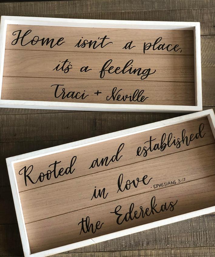 Wood Home Decor