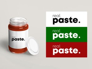 Real Paste - Logo & Brand Story