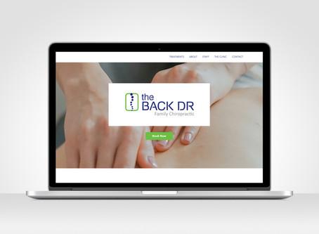 The Back Dr Leichhardt - Website + Branding