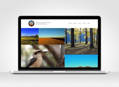 Outback Snaps - Logo + Website