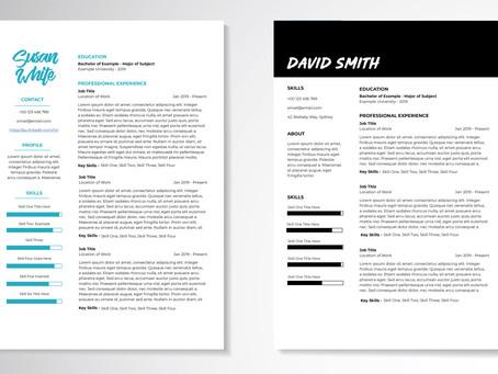 Custom Resume Layouts + Writing