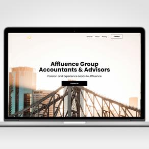 Affluence Group - Website + Slack Integration