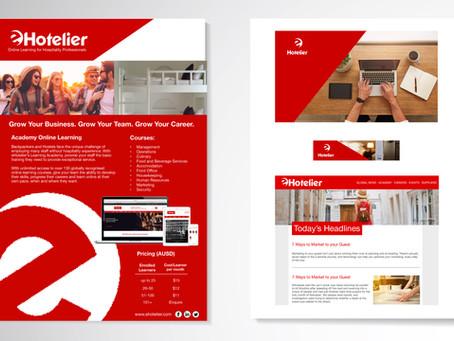 eHotelier - Branding + Design
