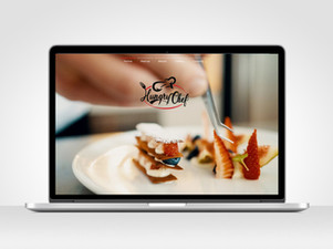Hungry Chef - Website Design + Copywriting + Menus