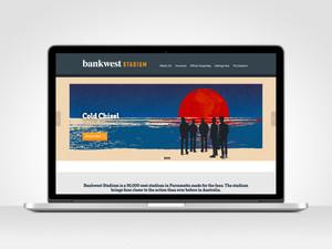 Bankwest Stadium - Web Design + Digital Marketing