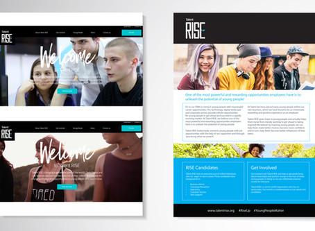 Talent RISE - Web + Design + Video
