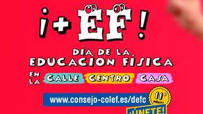 DÍA DE LA EDUCACIÓN FÍSICA EN LA CALLE, DEFC. 28-04-2021