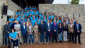 Colefna estuvo presente en la gala de la  Fundación Miguel Induráin Fundazioa, que ha becado este añ