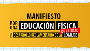 Manifiesto por una Edudación Física de calidad en el desarrollo reglamentario de la LOMLOE