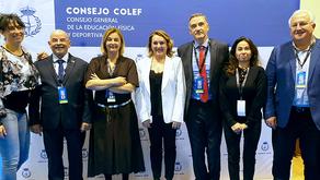 Sonia Herce, presidenta de Colefna, continúa como Secretaria del Consejo Colef tras la elecciones.