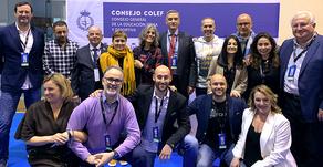 Reunión de los/as presidentes/as de los Colegios Profesionales Autonómicos (COLEF)