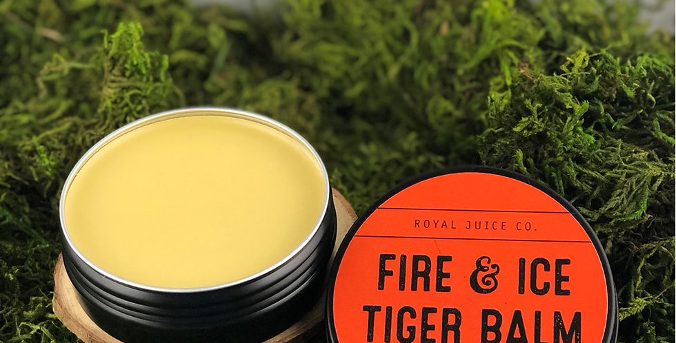 Fire & Ice Tiger Balm (2 oz. - 8 oz.)