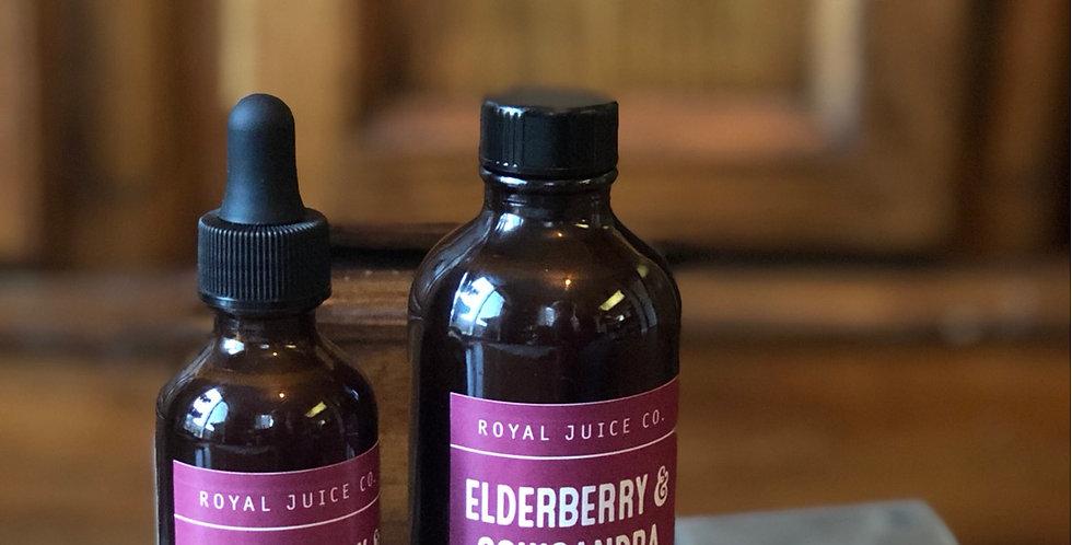 Elderberry & Schisandra Syrup (2.fl.oz.)