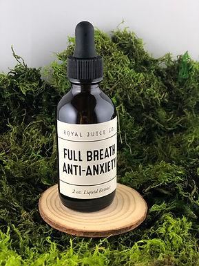 """Full Breath"" Anti-Anxiety Liquid Extract"