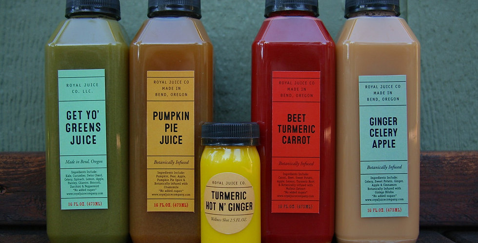 2 Day Juice Cleanse
