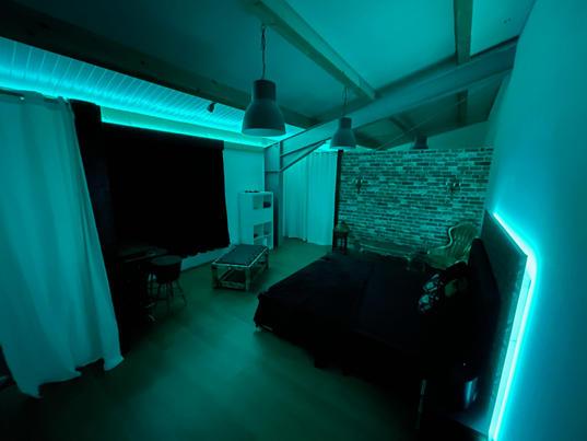 BDSM-Loft romantik Zimmer
