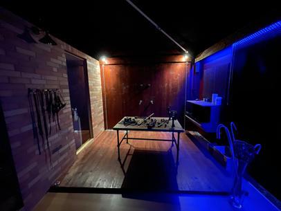 BDSM-Loft rotes Zimmer